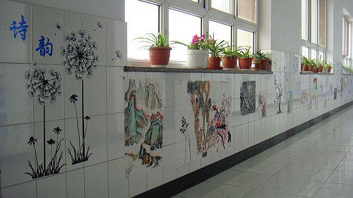 小学部开展教室,楼廊文化建设活动